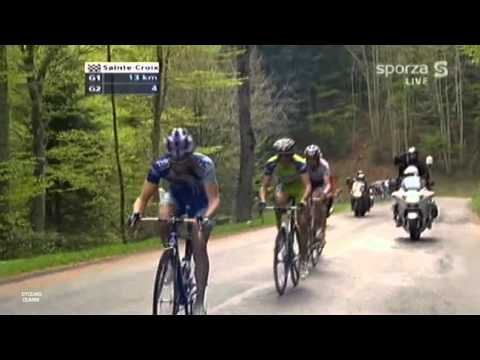 Winning Stage Four at the Tour de Romandie 2009