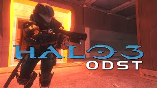 Halo 3: ODST on Xbox One B-Roll Gameplay (Halo: The Master Chief Collection)