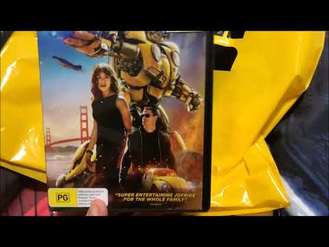 HTTYD 3 + Aquaman + Bumblebee DVD Unboxing