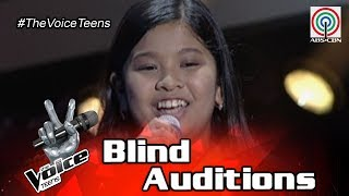 The Voice Teens Philippines Blind Audition: Elha Nympha - Chandelier