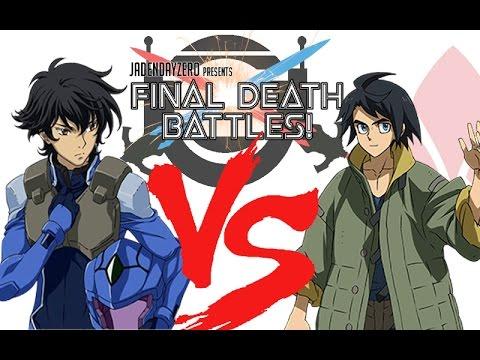 final death battles episode 1 setsuna vs mikazuki