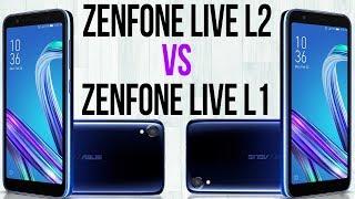Zenfone Live L2 vs Zenfone Live L1 (Comparativo)