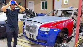 BUYING A CRASHED ROLLS ROYCE IN DUBAI !!!