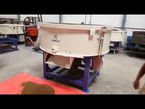 Roller Type Pan Mixer