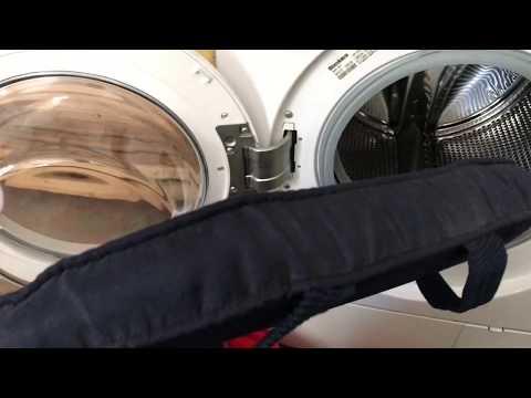 Stuhl Sitzkissen waschen in Waschmaschine Kissen Color Wäsche 40 Grad Anleitung