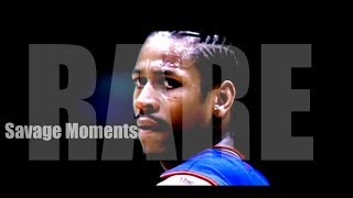 Allen Iverson RARE and SAVAGE Moments!! ᴴᴰ The Reason We ALL LOVE The Answer!