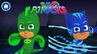 PJ MASKS: Héroes En Pijamas -Gecko & Catboy Equipo Contra Los Lobeznos . Aullidos De Caos - DisneyJr