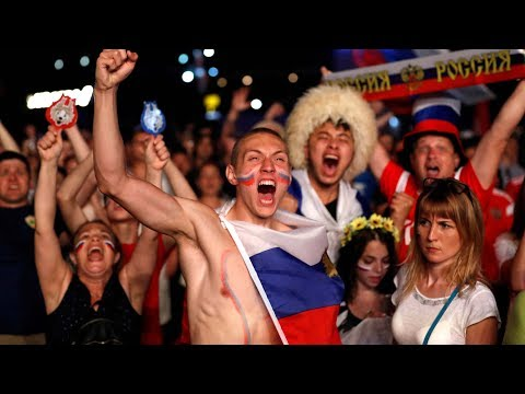 After a 3-1 victory: Russians tell you how to 'Party like a Russian'