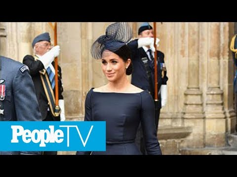 Meghan Markle Joins Harry, Will And Kate For Grand Military Service | PeopleTV