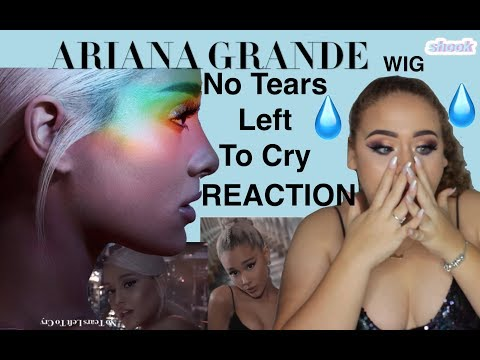 No Tears Left To Cry - Ariana Grande Music Video REACTION - Elise Wheeler