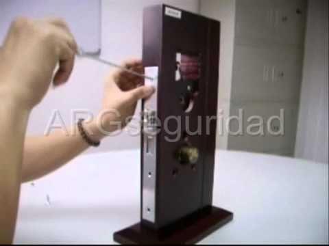 Cerraduras para Hotel ARGseguridad RF, Tarjeta Chip, banda Magnetica