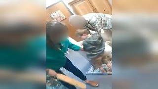 Controversial video shows school principal paddling crying kindergartener