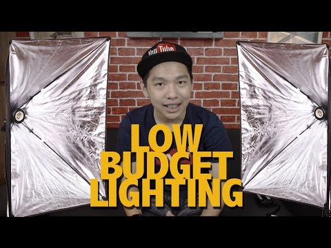 Tips Lighting Low Budget! | E-27 Softbox Review