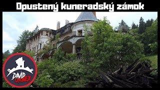 Opustený Kuneradský zámok - Národná kultúrna pamiatka - Dávid Urbex