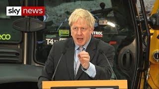 Johnson: Article 50 extension would