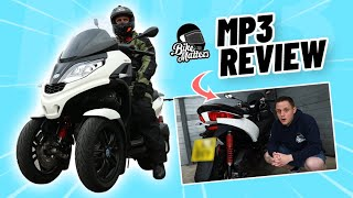 Piaggio MP3 Road Test and Review! (Car Licence Scooter!?)