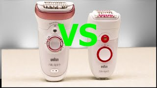 Braun SILK EPIL 9 vs SILK EPIL  5   -Best   gift for women!!!