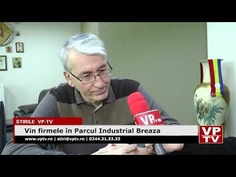 Vin firmele în Parcul Industrial Breaza