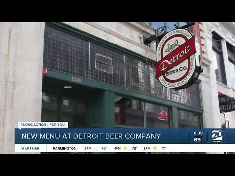 Detroit Beer Co. has a new menu featuring beer pairings