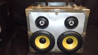 DIY Suitcase Speaker for $15 bucks