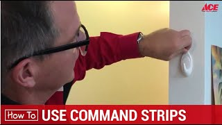 How To Use Command Strips - Ace Hardware
