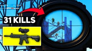WTF I DESTROYED 21 PLAYERS IN MILITARY BASE!!!   31 KILLS   PUBG Mobile