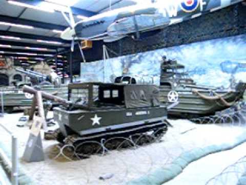Geluidseffecten in het Marshall museum in Overloon