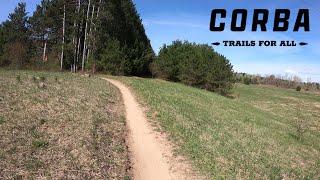 Lowes Creek (Eau Claire, WI) - Far East Trail (Part 2) - Spring Time Ride (Helmet Cam)