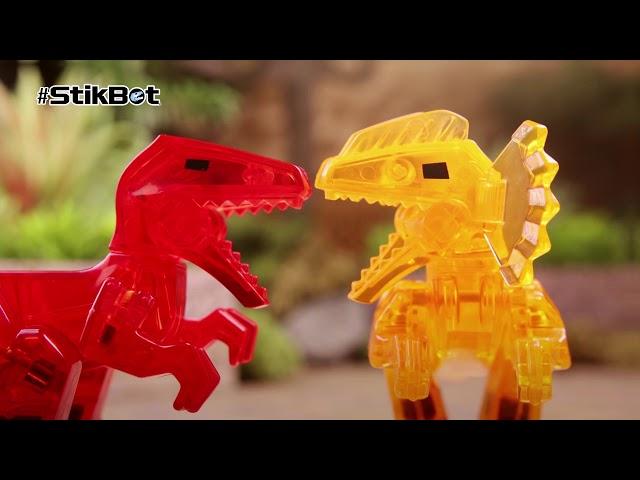 Фігурка Для Анімаційної Творчості Stikbot  Mega Dino - Тиранозавр
