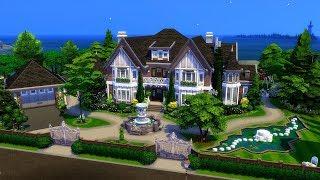 The Sims 4    Speed Build    Yew Tree Lane Collab /w Thomas TV