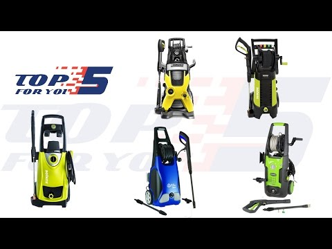 Top 5 Best Electric Pressure Washers of 2017 – Pressure Washer Reviews