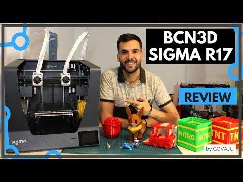 ¿MEJOR IMPRESORA 3D CON DOBLE EXTRUSIÓN? 🔎- Review SIGMA R17 en Español.