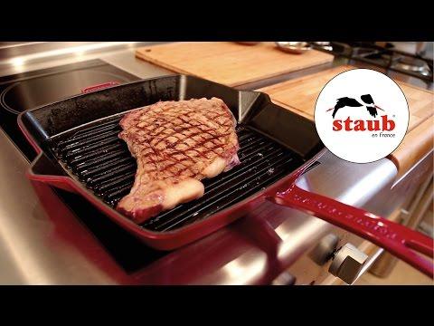 How to use… die Grillpfanne von STAUB