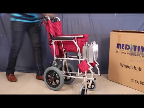Aluminum Transit Wheelchair