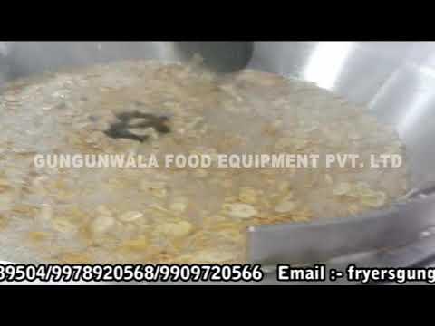Potato & Banana Chips Continuous Fryer