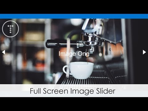 Full Screen Image Slider With HTML, CSS & JS
