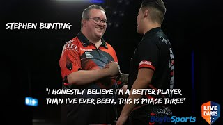 "Stephen Bunting: ""I honestly believe I'm a better player than I've ever been, this is phase three"""