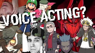 I tried Voice Acting/Impression and this is what we got...