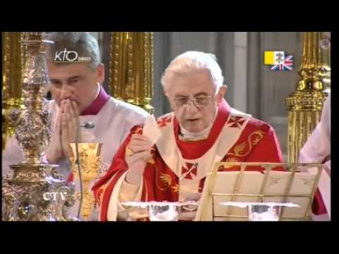 Messe dans la cathédrale de Westminster