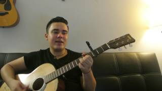 "Ed Sheeran - ""Be Like You"" How to Play Guitar (Easy!! Guitar Tutorial!!)"