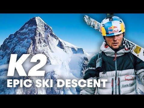 First Ever Ski Descent of K2
