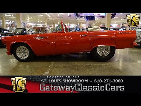 Video of '55 Thunderbird located in Illinois Offered by Gateway Classic Cars - St. Louis - KE56