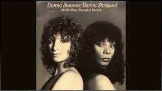 Barbra Streisand & Donna Summer - No More Tears (Enough Is Enough) CBS Records 1979