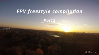 "Freestyle FPV flight compilation | dotDrone Raven 6"" | Wrocław 2019 | Part2"