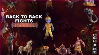 Little Krishna Back to Back Fights | HD | Hindi