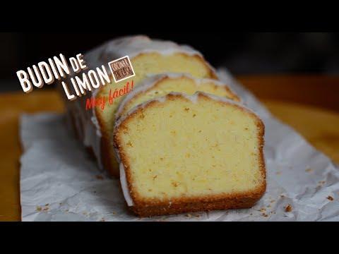 Receta fácil de Budín de Limón