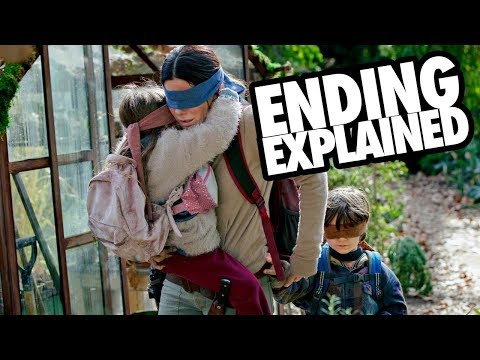 BIRD BOX (2018) Ending + Monsters Explained