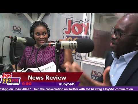 #JoySMS Newspaper Review on Joy FM (18-9-18)