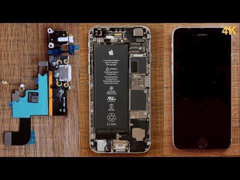 iPhone 6 Ladebuchse wechseln reparieren-Ruben Orfeo 4K