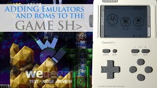 Adding Emulators To The GameShell : We Get Technical | We Deem